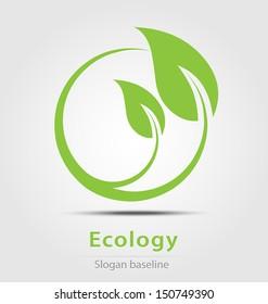 Originally created ecology business icon