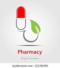 Originally created pharmacy business icon