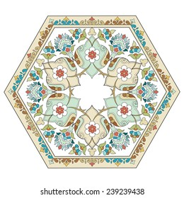 Ornament and design Ottoman decorative arts