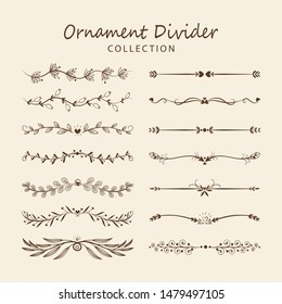 Ornament Divider Collection - Vector
