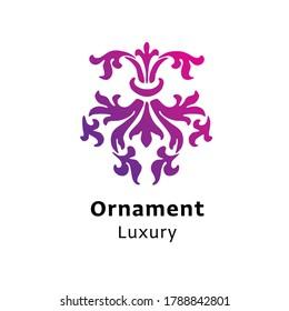 ornament-luxury-written-black-color-260n