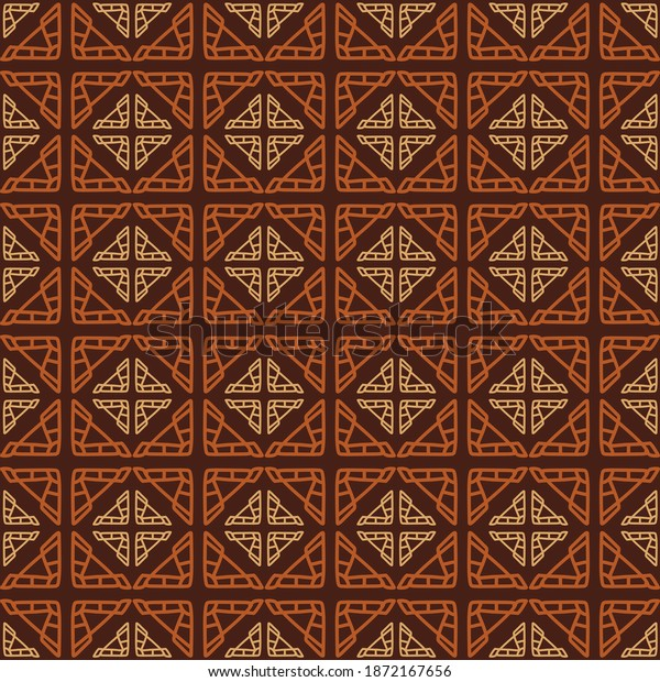 ornament seamless pattern design cool and fresh idea with luxurious theme