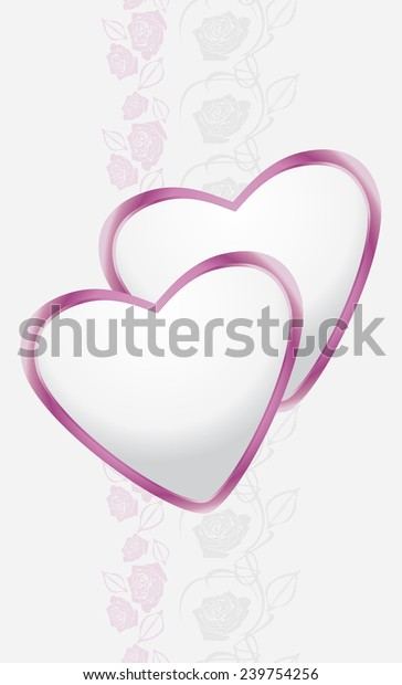 ornamental-border-hearts-stylized-roses-