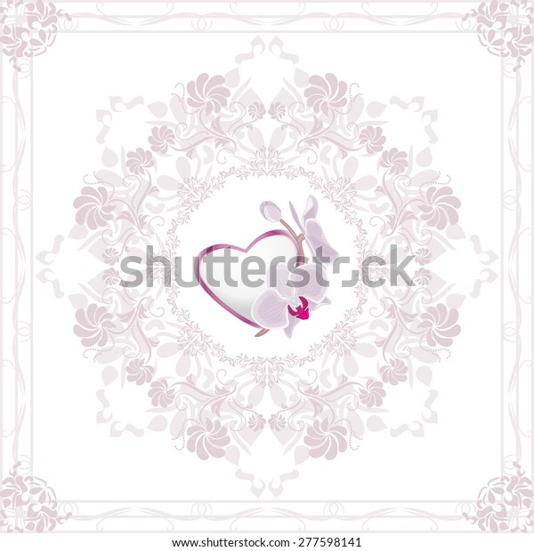ornamental-element-heart-orchid-valentin