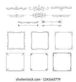 Ornamental frames collection