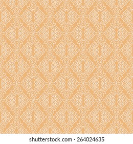 Ornamental geometric elements style background pattern for wallpaper and decoration.