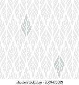 Ornamental leaf seamless high resolution pattern