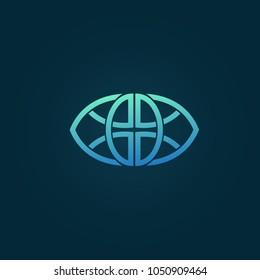 Ornamental logo. Celtic sign. Luxury retro emblem. Cosmetics, Spa, Beauty salon, Decoration, Boutique vector logo.