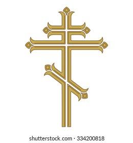 Ornamental orthodox cross.