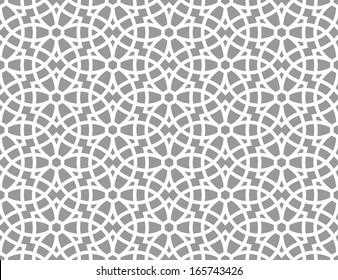 Ornamental pattern. Arabic seamless pattern.  Moroccan background.