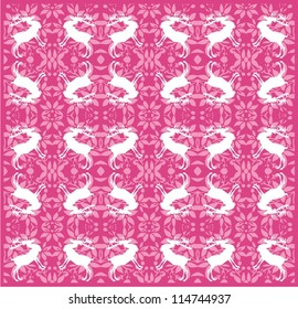 Ornamental pattern for deer