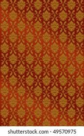 Ornamental pattern vector background