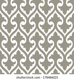 Ornamental seamless pattern. Vector abstract background