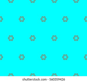 Ornamental seamless pattern. Vector abstract background.