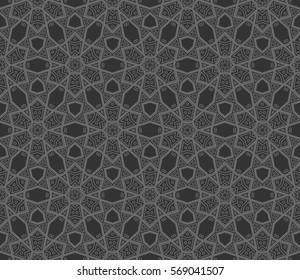 Фотообои Ornamental seamless pattern. Vector abstract background.