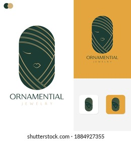 Ornamential Logo template Design Concepts