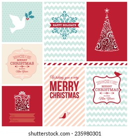 Ornate Christmas cards.
