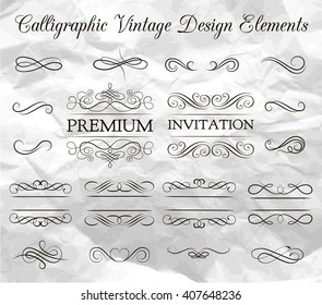 Ornate frame elements. Vintage and filigree decoration. Ornate frames and scroll  swirls element. Filigree divider Invitation. scroll invitation. filigree element. divider vintage ornament. swirl