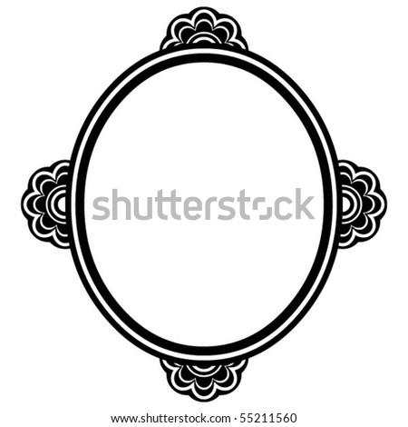 Ornate Frame Vector Design Element Stock Vector (Royalty Free ...