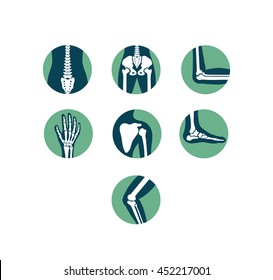Orthopaedics and Sport Medicine Icons