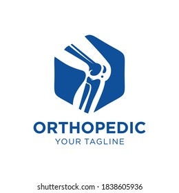 Orthopedic Health Bone Logo Design