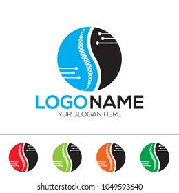 Orthopedic Surgery Logo Design Template EPS