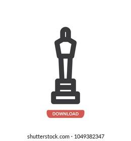 Oscar vector icon