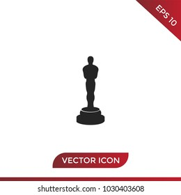 Oscars icon vector