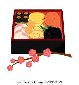 Osechi Japanese New Year Food