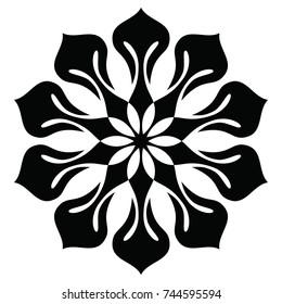 Ossetian ornament. Ornamental art of Iryston