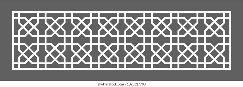 Ottoman style, textured seamless illustration. Abstract geometric mosaic pattern with polygons and stars.