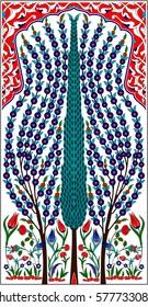 Ottoman Tile Motif