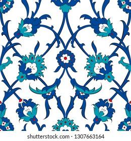 Ottoman Turkish Tile Pattern