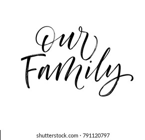Our Family Template