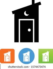 Outhouse Latrine Rest Area Icon