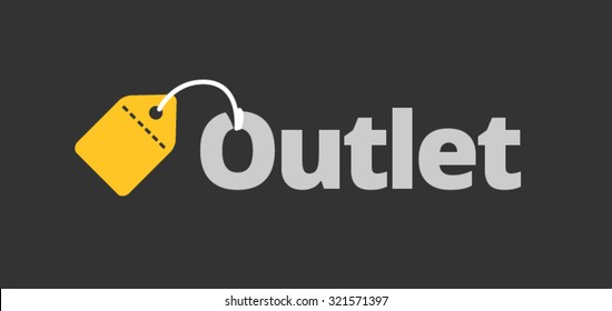 outlet template black yellow