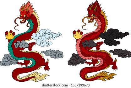 Chinese Dragon Wallpaper Images Stock Photos Vectors Shutterstock