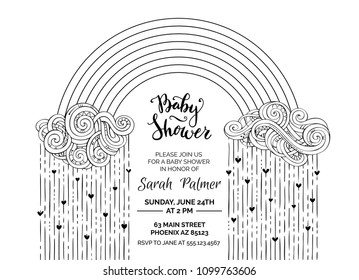 Free Printable Baby Shower Coloring Pages - Coloring Home | 280x359