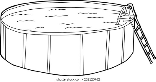 Swimming Pool Outline Images, Stock Photos & Vectors ...