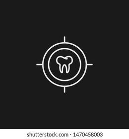 Outline checkup vector icon. Checkup illustration for web, mobile apps, design. Checkup vector symbol.