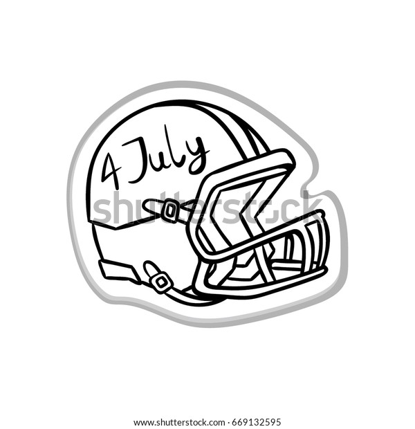 photograph regarding Printable Football Helmet named Define Soccer Helmet Print American Patriotic Inventory