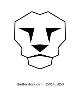 Lion Face Outline Images Stock Photos Vectors Shutterstock In this page, you can download any of 39+ lion outline vector. https www shutterstock com image vector outline lion face icon vector element 1531435853