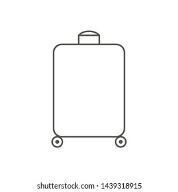 Suitcase Graphic Outline Images, Stock Photos \u0026 Vectors