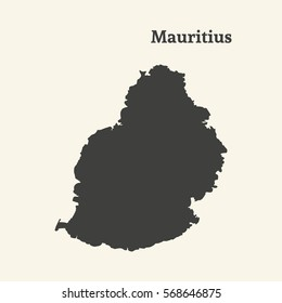 Mauritius Map Images, Stock Photos & Vectors | Shutterstock