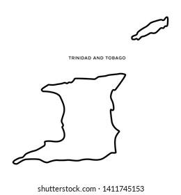Outline Trinidad Tobago Images, Stock Photos & Vectors ...