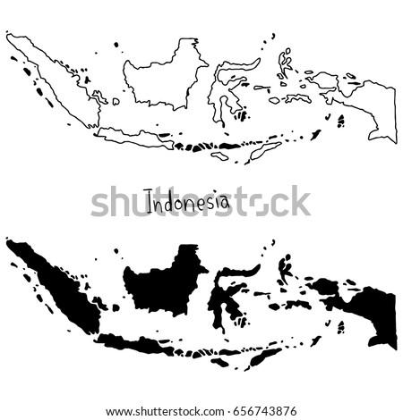 Peta Indonesia Peta Indonesia Outline