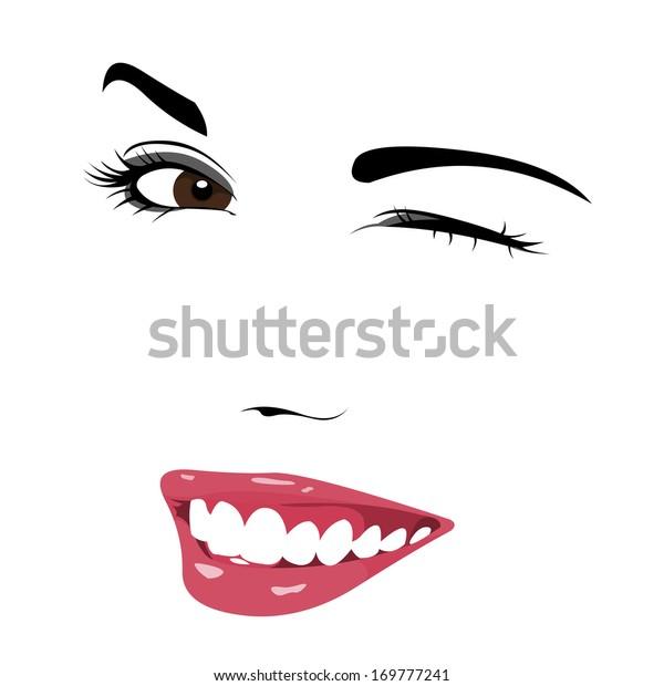 Image Vectorielle De Stock De Dessin De La Jeune Femme Mignonne 169777241