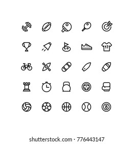 Outline Sport Icons