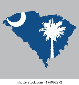 Outline of the State of South Carolina