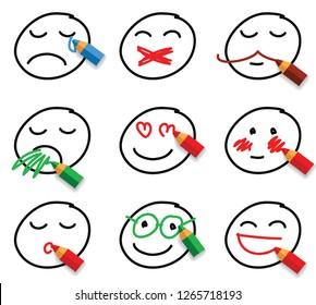 Draw Stock Vectors Images Vector Art Shutterstock
